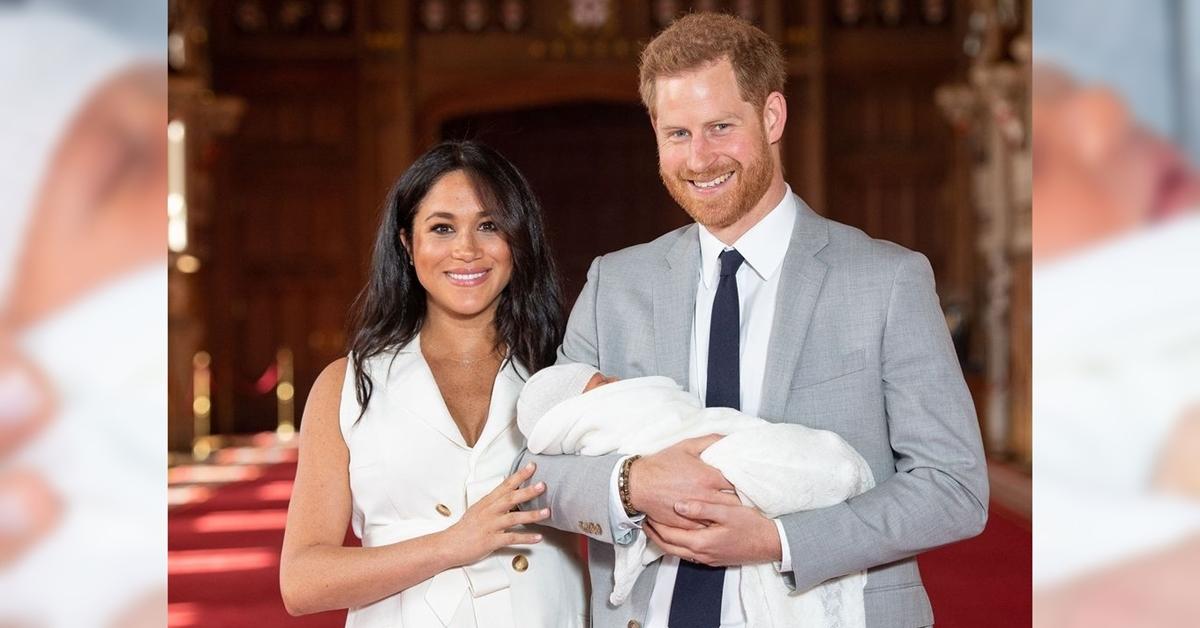 Voici Le Pr 233 Nom Du Fils De Meghan Et Harry Et Les Toutes